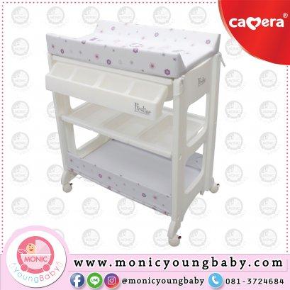 โต๊ะอาบน้ำเด็ก HY13 CAMERA ลายเด็กผู้หญิง