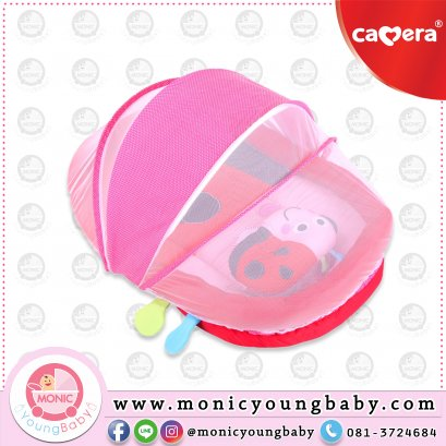 ชุดมุ้งเด็กเบาะที่นอน ลายเต่าทอง Camera DOME Baby Net ซักได้ทั้งตัว