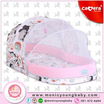 ชุดมุ้งเด็กหลังคาบังแสงครึ่งนึง+เบาะที่นอน Camera DOME Baby Net Size ใหญ่
