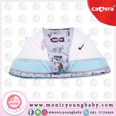ชุดมุ้งเด็กเบาะที่นอน ผ้าเกาหลี ขนาดใหญ่ ถอดซักได้ Camera DOME Baby Net