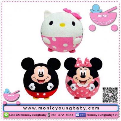 บอลผ้า มี 3 ลาย Hello Kitty / Minnie / Mickey