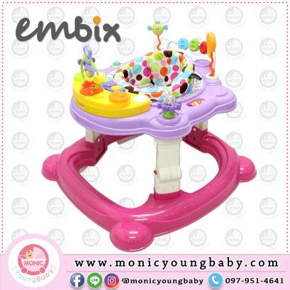 รถหัดเดินและช่วยพยุงยืน รุ่น EM-95002 ยี่ห้อ EMBIX Baby Walker