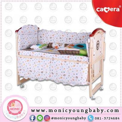 เตียงไม้เด็ก CAMERA รุ่น714  Wooden Bed ปรับเป็นโซฟาได้