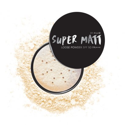 4U2 SUPER MATT LOOSE POWDER SPF50 PA+++