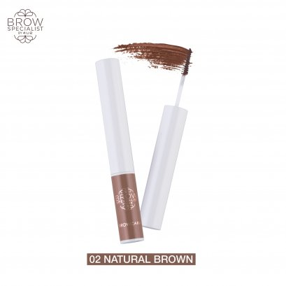 4U2 BROW SPECIALIST BROWCARA #02 NATURAL BROWN