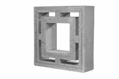 บล็อคช่องลม CPS สี่เหลี่ยมซ้อน (DOUBLE SQUARE BLOCK)