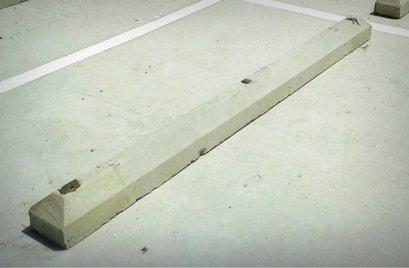 ที่หยุดล้อรถยนต์ CPS (CPS Wheel Stopper)   挡轮杆  混凝土挡轮杆 停车位用