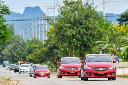 ซูซูกิ จัดกิจกรรม The Leisure Journey with Suzuki CIAZ   เติมฝัน สร้างสุข พร้อมตอกย้ำความเป็นผู้นำ อีโคคาร์ ซีดาน