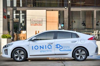 HYUNDAI IONIQ electric รถไฟฟ้า 100% ไร้น้ำมัน ไร้มลพิษ เป็นมิตรกับสิ่งแวดล้อมพร้อมแล้วกับถนนเมืองไทย
