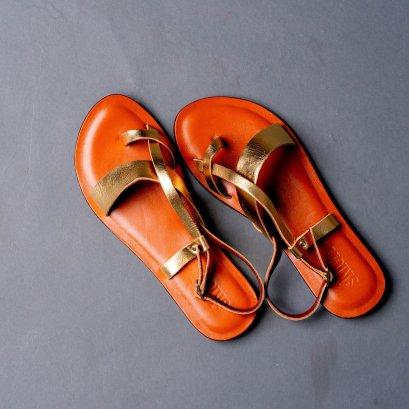 SKLERR :  Leather Slipper sandals008