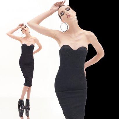 ASIRA : Eccentric Ocasio Dress