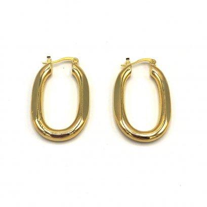 PREPPY GIRL : Gold Zero Earrings