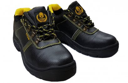 SAFETY SHOE [PU LEATHER]