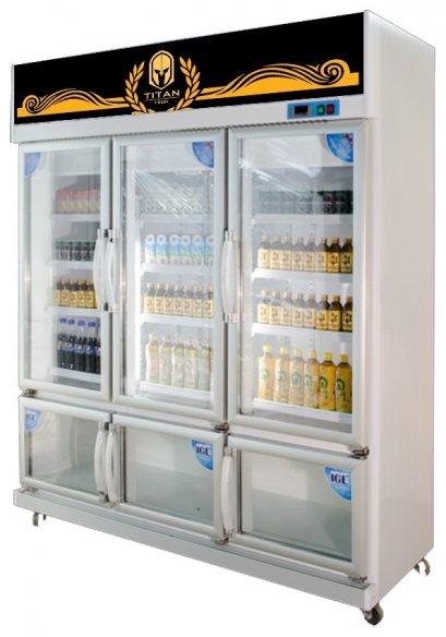 6 Doors Bev. Cooler + Freezer (2 Systems / 2 Stories)