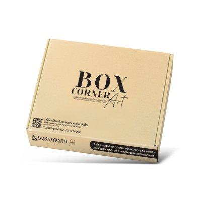 กล่องไดคัทหูช้างขนาด : 13 5/8 x 19 7/8 x 2 1/4 inches.