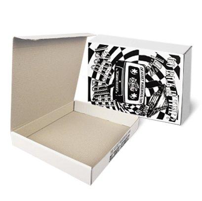 กล่องไดคัทฝาเสียบขนาด : 8 1/2 x 12 1/2 x 3 inches.