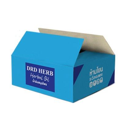 กล่องน้ำมันสมุนไพร,ครีม,ผลิตภัณฑ์ดูแลผิว Brand : DRD Herb