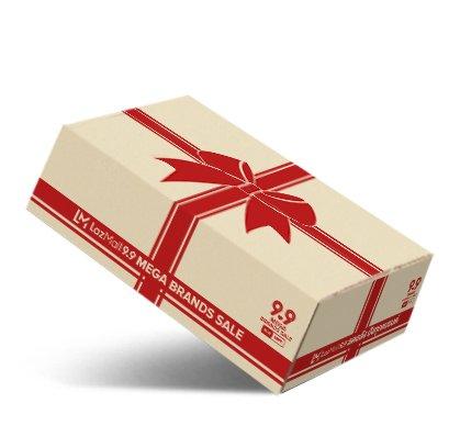 กล่องกระดาษลูกฟูก 3 ชั้นลอน C Brand : Lazada
