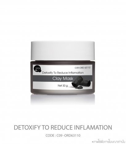 Detoxify To Reduce Inflamation Clay Mask