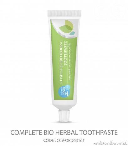 Complete bio herbal toothpaste