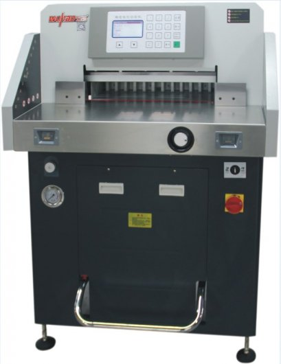 เครื่องตัดกระดาษไฟฟ้าระบบไฮดรอลิค รุ่น 5208TX