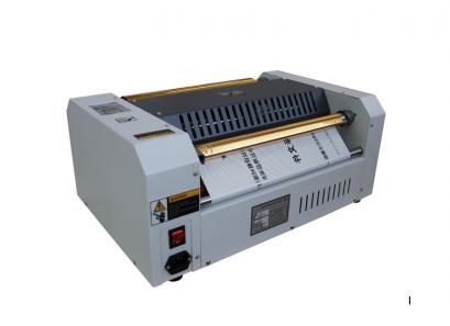 เครื่องพิมพ์ฟลอย์ รุ่น Wh-100 gold foiler printer