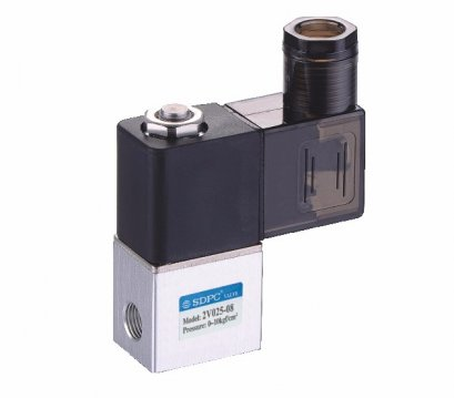 solenoid valve single coil 2/2