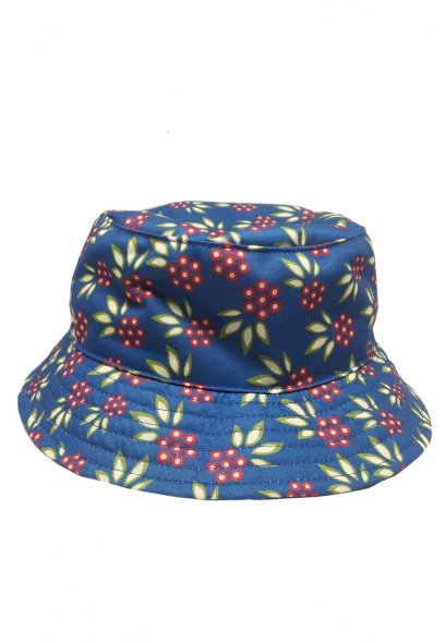 U-re Small Flower with Leaf Print Bucket Hat