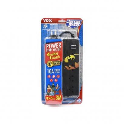 POWER STRIP Justice League License - Batman