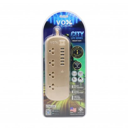 Vox City Life Series Smart Wifi : CTW-416 (3 เมตร)