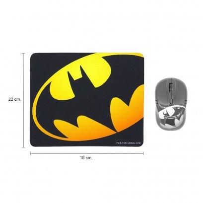 แผ่นรองเมาส์ (Mousepad) Logo BATMAN ลายลิขสิทธิ์แท้ Justice League