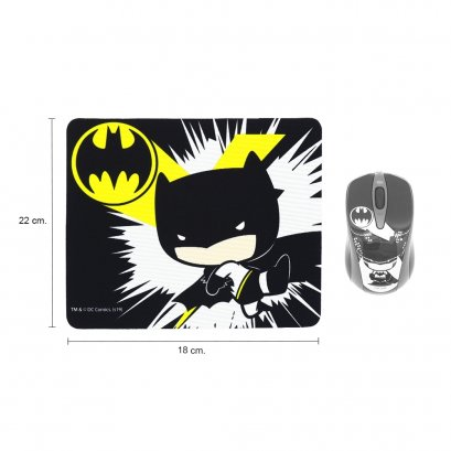 Premium Mouse Pad (legally licensed) Cartoon BATMAN