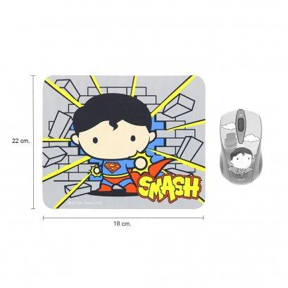 แผ่นรองเมาส์ (Mousepad) Cartoon SUPERMAN ลายลิขสิทธิ์แท้ Justice League