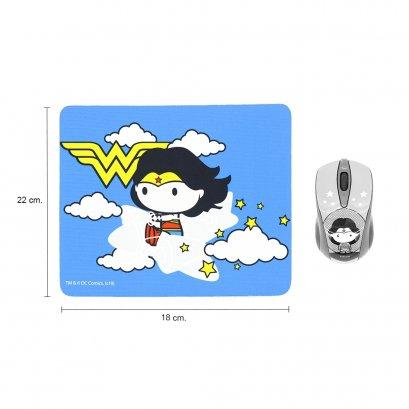 Premium Mouse Pad (legally licensed) Cartoon WONDER WOMAN