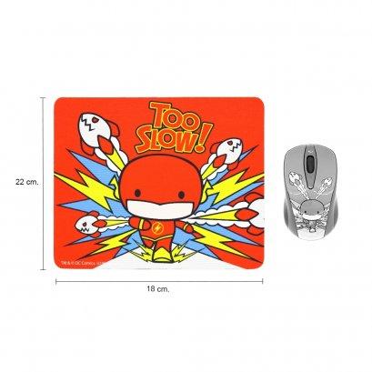 Premium Mouse Pad (legally licensed) Cartoon THE FLASH
