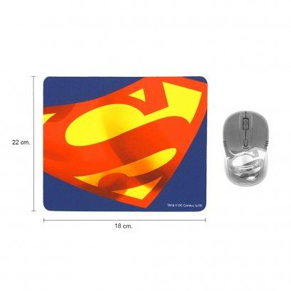 แผ่นรองเมาส์ (Mousepad) Logo SUPERMAN ลายลิขสิทธิ์แท้ Justice League