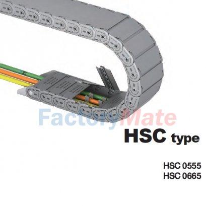 รางกระดูกงูพลาสติก HSC Type
