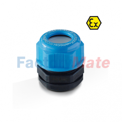 BLUE ATEX Nylon Cable Gland Cable Glands Atex Polyamide IP68