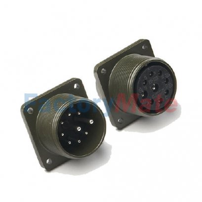 KD3102 Circular Military Connectors, KD3102 Class A MS3102 Class A Box mounting receptacle
