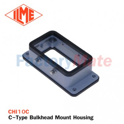 ILME CHI-10C C-Type Bulkhead Mount Housing, Size 57.27, 4 Pegs