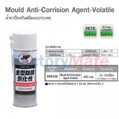 JIP-125 Mould Anti-Corrision Agent-Volatile : น้ำยาป้องกันสนิมแบบระเหย