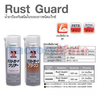 NX-88 Rust Jet : น้ำยาป้องกันสนิมคุณสมบัติแทนที่น้ำ