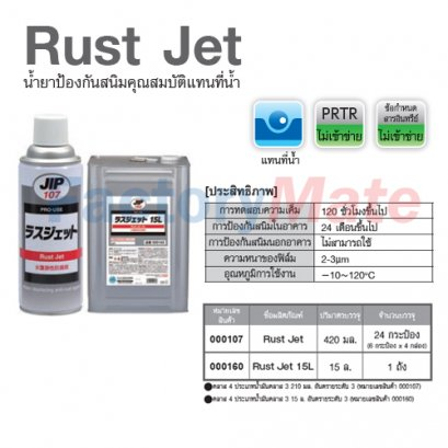 Rust Jet,น้ำยาป้องกันสนิมคุณภาพแทนน้ำ
