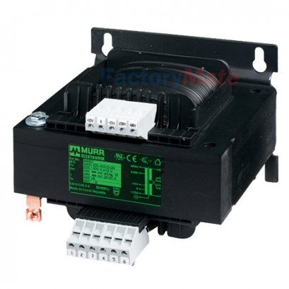 MTL 1-PHASE CONTROL AND ISOLATION TRANSFORMER P: 400VA IN: 230/400VAC +/- 15VAC OUT: 2x115VAC