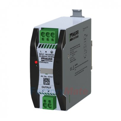 EMPARRO MEF 1/1 1-phase, 1-stage I:20A U:230 VAC, snap on, with surge protection
