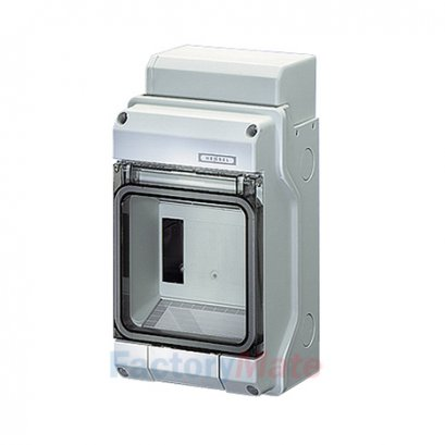 KV7104 : KV Small-type Distribution Boards up to 63 A  KV Circuit breaker boxes with metric knockouts Circuit breaker box