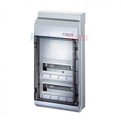 KV9330 : KV Small-type Distribution Boards up to 63 A  KV extra circuit-breaker boxes with space for electrical devices not to be manually actuated Circuit breaker box