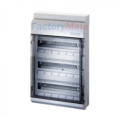KV 9354 M : KV Small-type Distribution Boards up to 63 A  KV Circuit breaker boxes with metric knockouts Circuit breaker box
