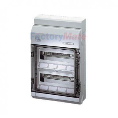 KVPC9224 : KV Small-type Distribution Boards up to 63 A  KV Circuit breaker boxes for outdoor installation (harsh environment and/or outdoor) Circuit breaker box