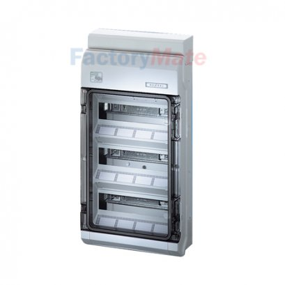KV PC 9336 : KV Small-type Distribution Boards up to 63 A  KV Circuit breaker boxes for outdoor installation (harsh environment and/or outdoor) Circuit breaker box